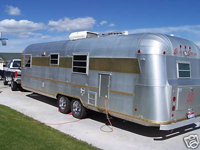 1973 Silver Streak Continental Vintage Travel Trailer