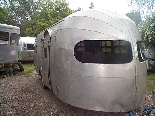 Vintage 1949 Silver Streak Clipper Travel Trailer