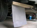 made from 5/4 treated decking. Angle (Ford class 5) is 14 degrees.
