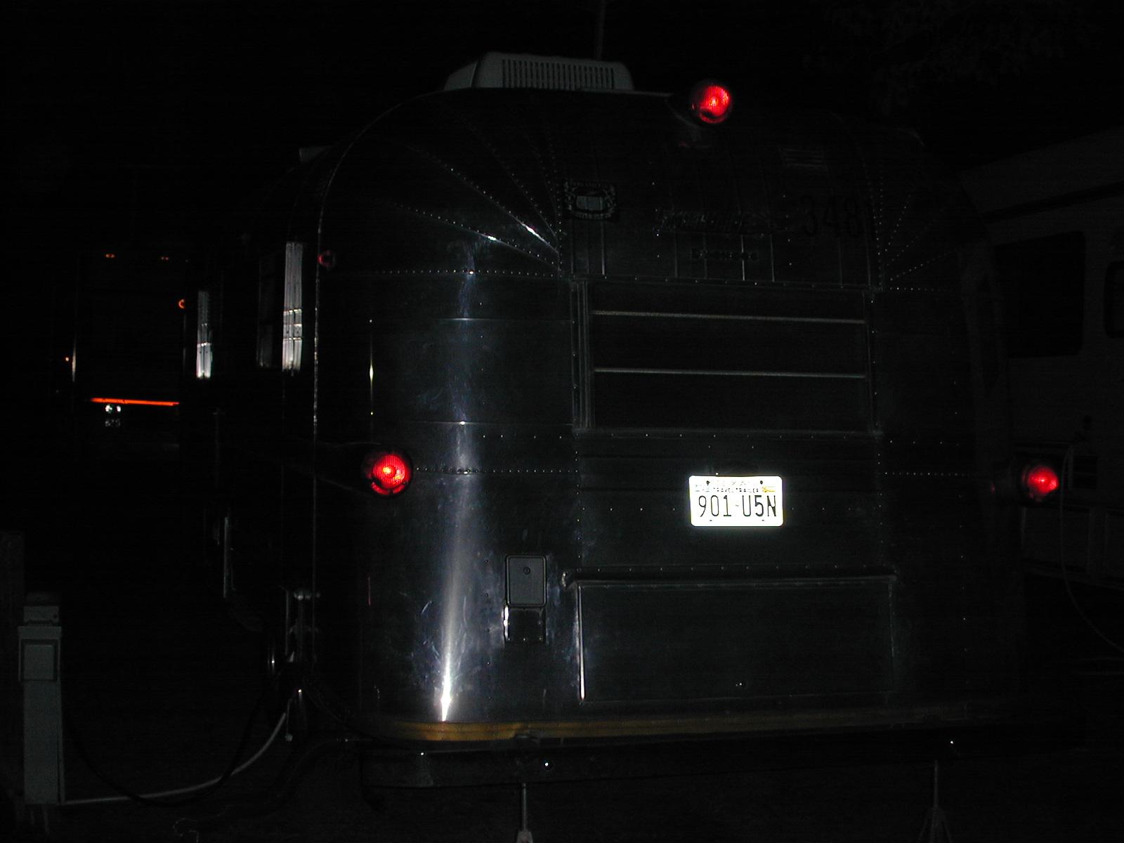 Rear trailer lights