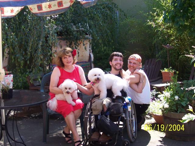 Marie, Blaine, Ric, Poppi and Pippi